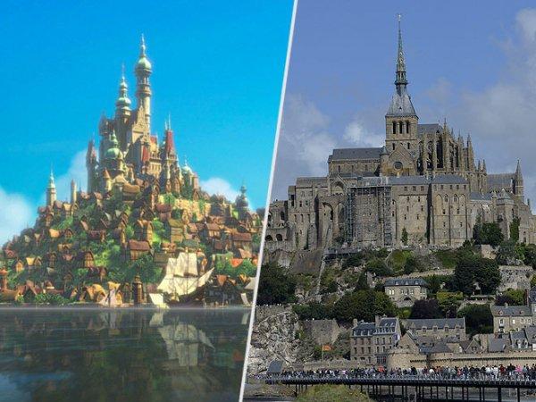 MONT SAINT-MICHEL, NORMANDY, FRANCE: TANGLED