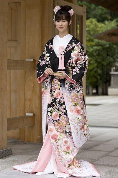 kimono, costume, tradition, fashion, girl,