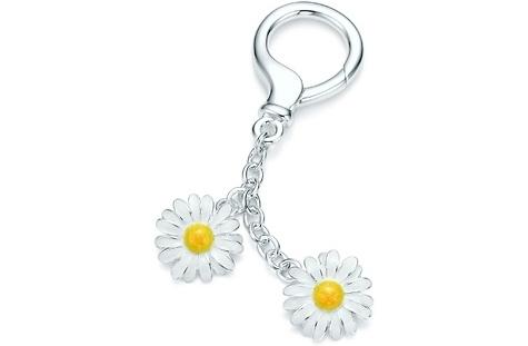 Tiffany Daisy Key Ring