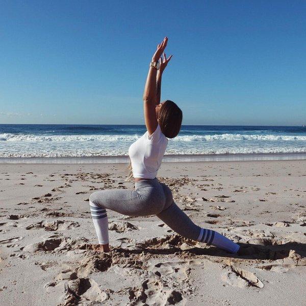 beach, sea, physical fitness, sky, vacation,