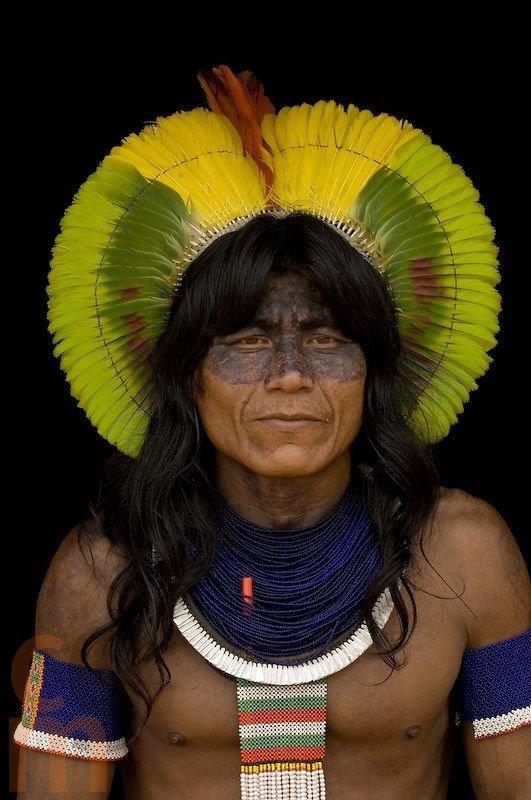 Indigenous Man of the Amazon