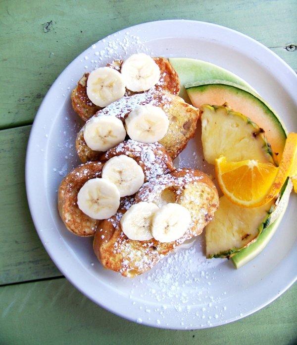 Fresh Fruit and French Toast