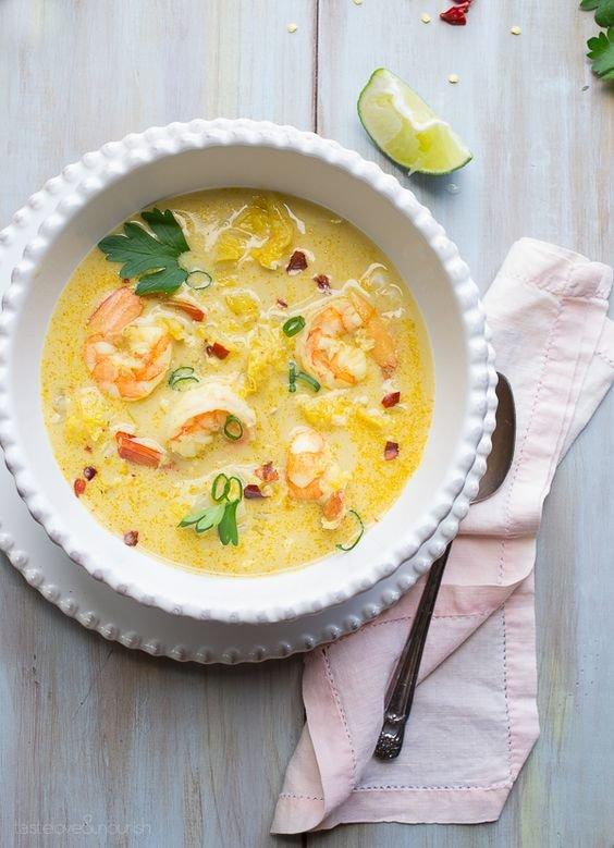 food, dish, cuisine, soup, produce,