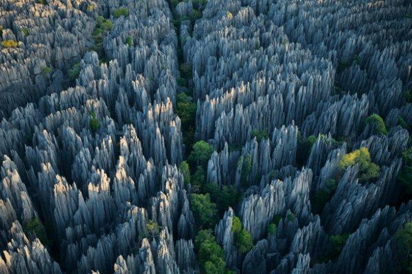 Tsingy Stone Forest in Madagascar
