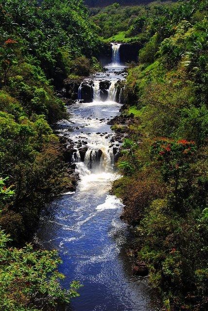 Umauma Falls, Hilo, Big Island