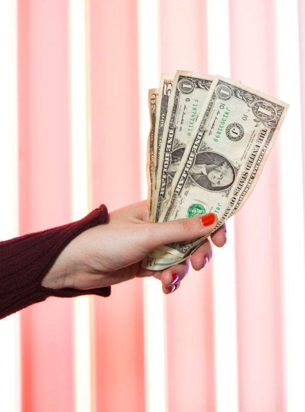 Cash, Money, Currency, Hand, Dollar,