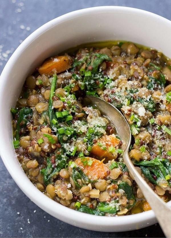 ONE POT Lentil Quinoa