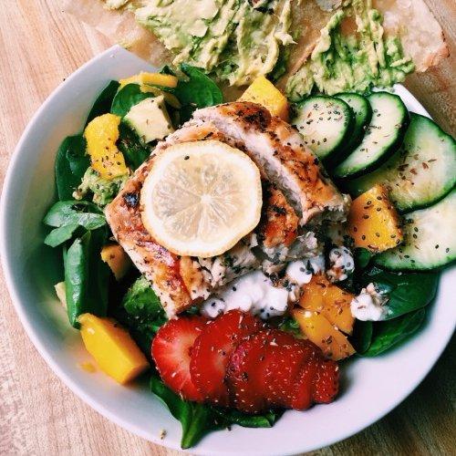 dish, food, salad, produce, plant,
