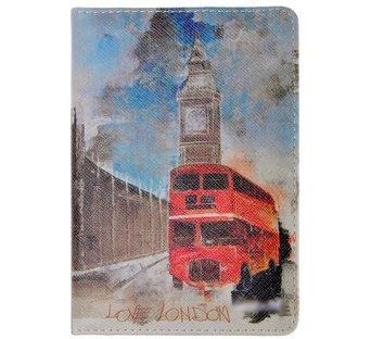 Retro Style Waterproof London Travel Passport Cover