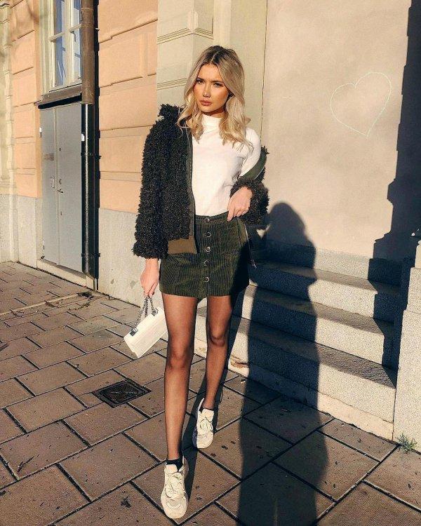 Clothing, Street fashion, Photograph, White, Fashion,