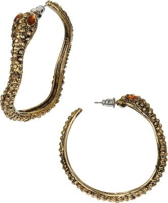 Topshop Snake Wrap Hoops