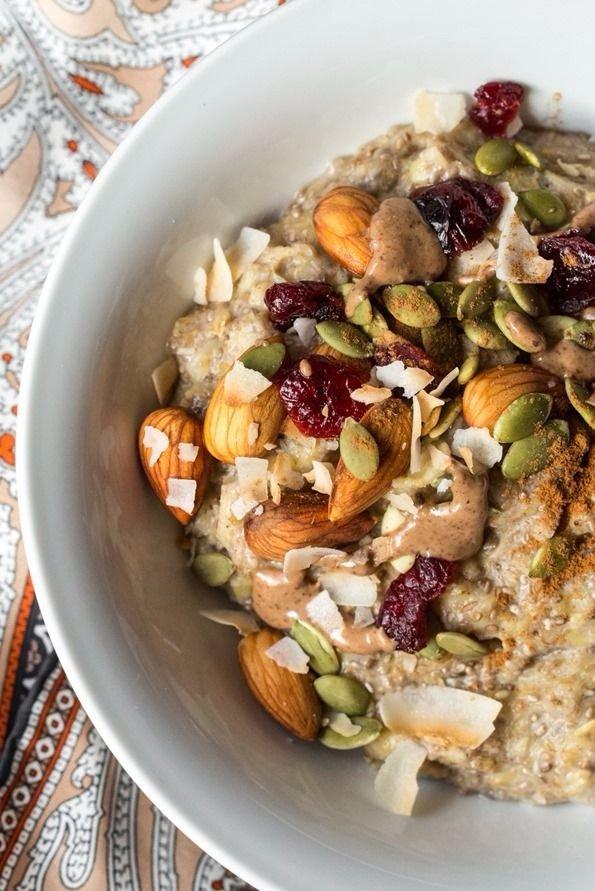 Five Minute Oatmeal Power Bowl