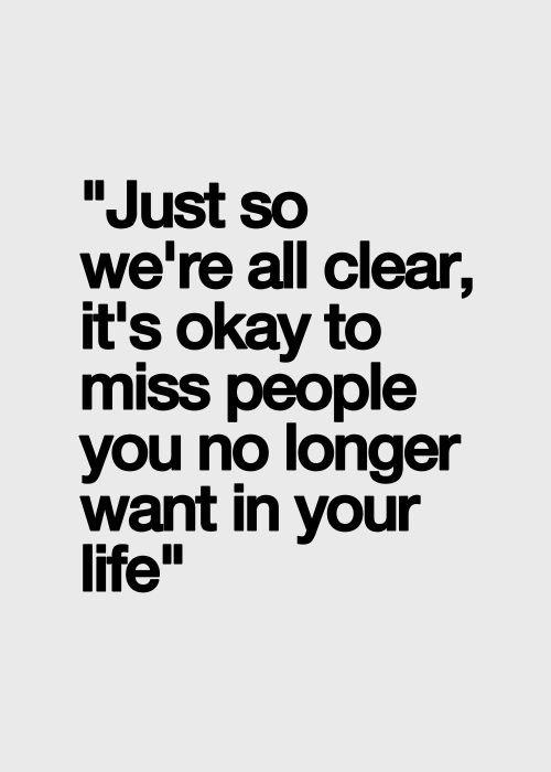 It's Okay to Miss People