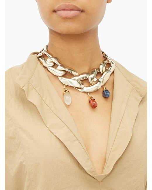 Necklace, Jewellery, Neck, Fashion accessory, Beige,