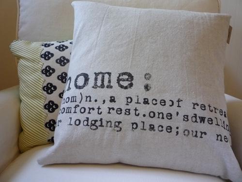 Pure Natural Oatmeal Home Pillow