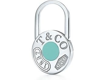 Tiffany 1837 Circle Key Ring