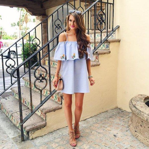 clothing, dress, spring, fashion, leg,