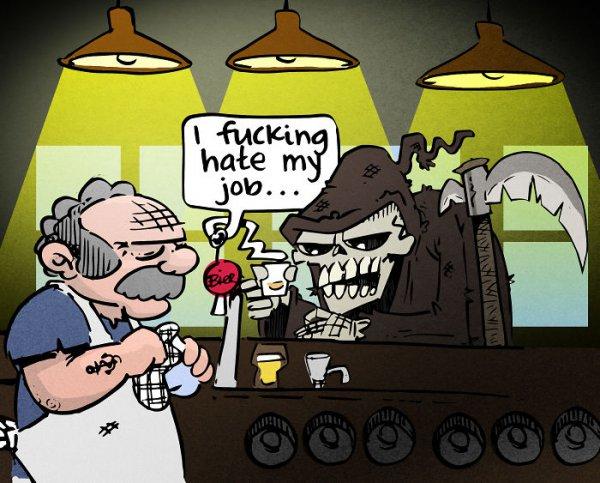 cartoon, illustration, fiMcKin, hate,