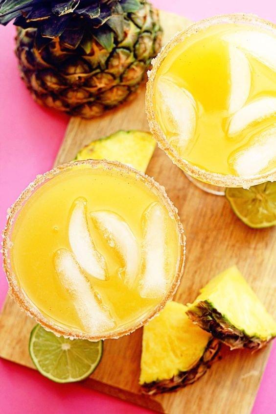 Pineapple Mocktail Margarita