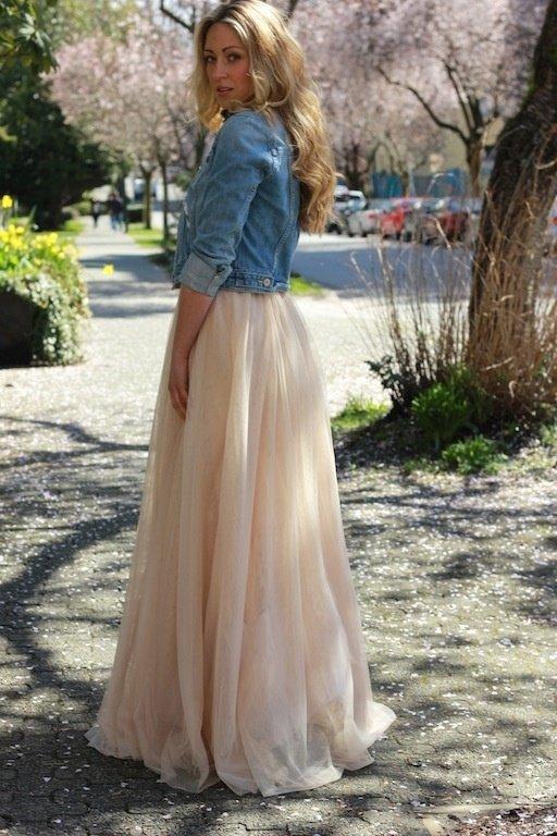 With a Fancy Dress