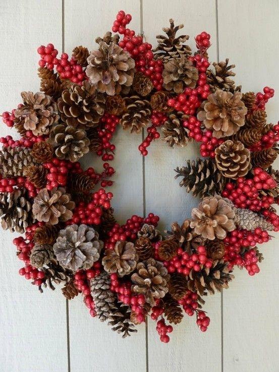 Pine Cone Wreath