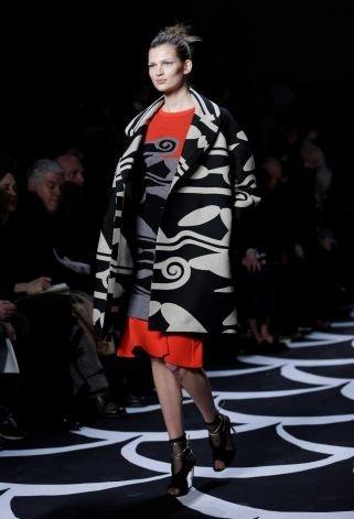 Big, Bold Oversized Coats (as Seen in Diane Von Furstenberg's Show)