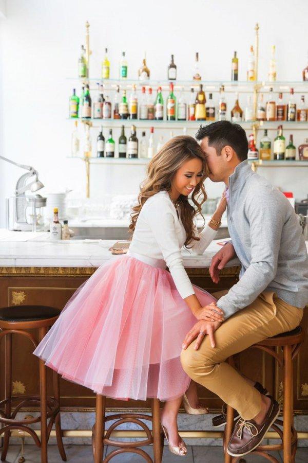 Romantic Pink Skirt