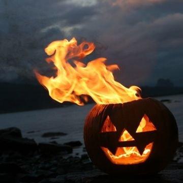 Jack-o-lantern Campfire