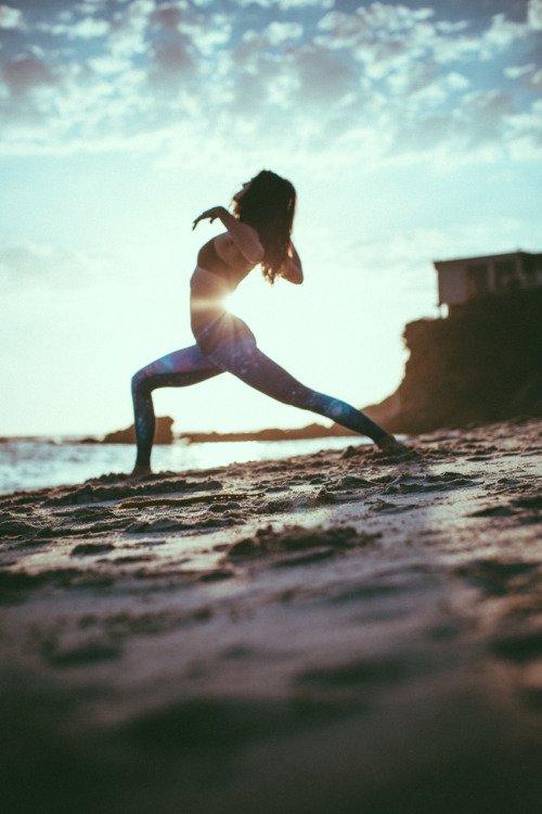 Taken While Doing Yoga