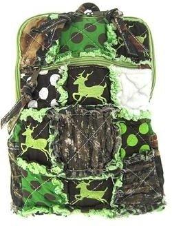 Patchwork Camo Deer Small Backpack