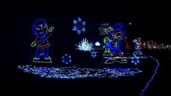 Kentucky U2013 Lights Under Louisville. Christmas Lights ...