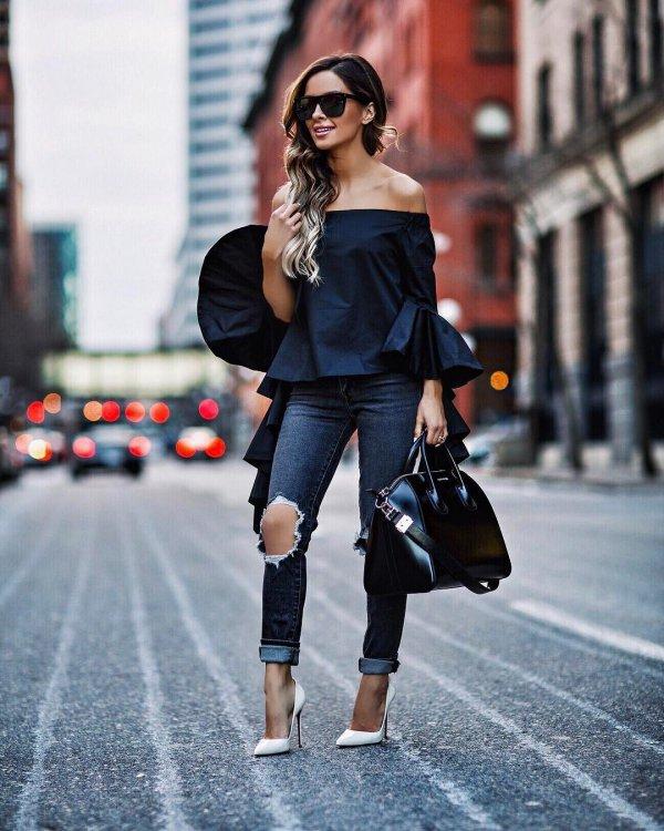 clothing, black, footwear, fashion, spring,