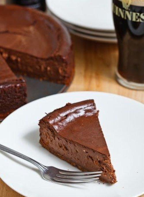 Guinness Chocolate Cheesecake