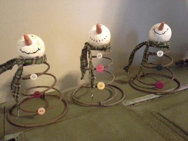 Springy Snowmen