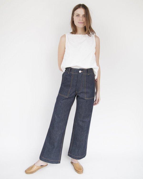 clothing, jeans, denim, waist, one piece garment,