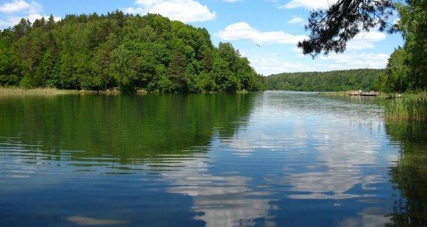 Green Lakes in Vilnius, Lithuania