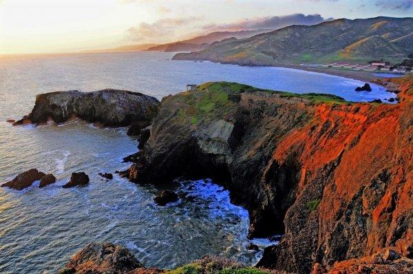 The Marin Headlands