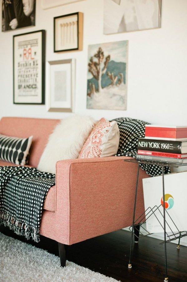 Pink Sofa!