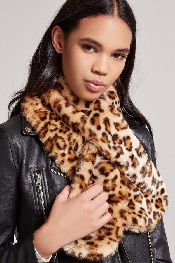 fur clothing, fur, fashion model, scarf, stole,