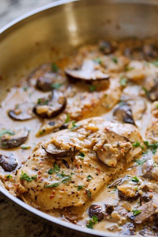 Dish, Cuisine, Food, Ingredient, Chicken marsala,
