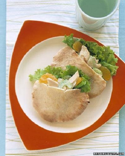 Chicken Salad Pita: Creative Kids' Lunch Ideas...