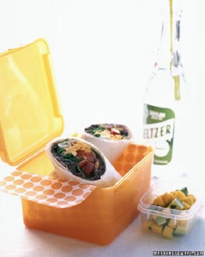 Taco Salad Wrap: Veggie Filled Kids' Lunch Ideas...