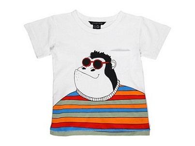 Gorilla T-Shirt: Marc Jacobs Designer Clothes for Kids...