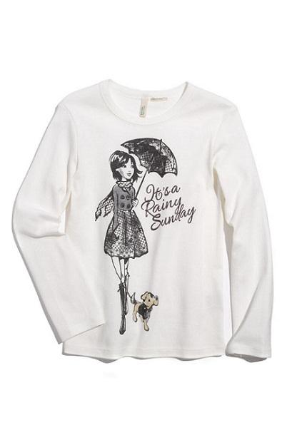 Rainy Day Shirt: Cute Designer Clothes for Kids...