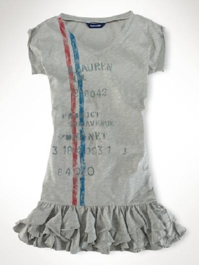 Ruffled Shirt Dress: Adorable Designer Clothes for Kids...