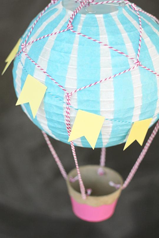 Hot Air Balloon Wishing Well