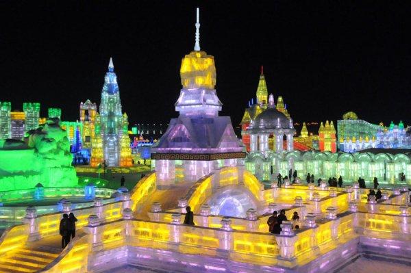 Harbin Ice and Snow, Harbin, Heilongjiang, China