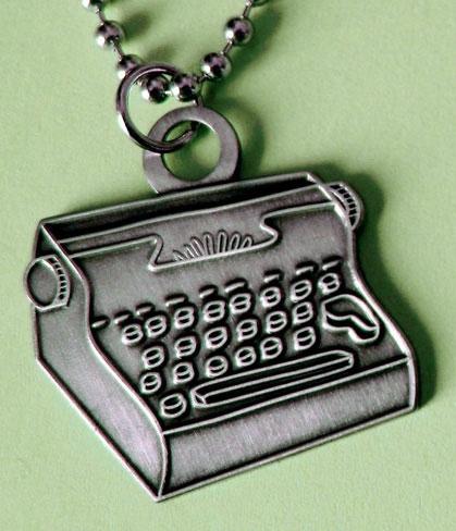 Susie Ghahremani Typewriter Necklace