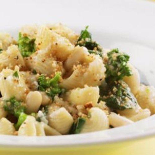 Orecchiette with Broccoli Rabe & Chickpeas (V)