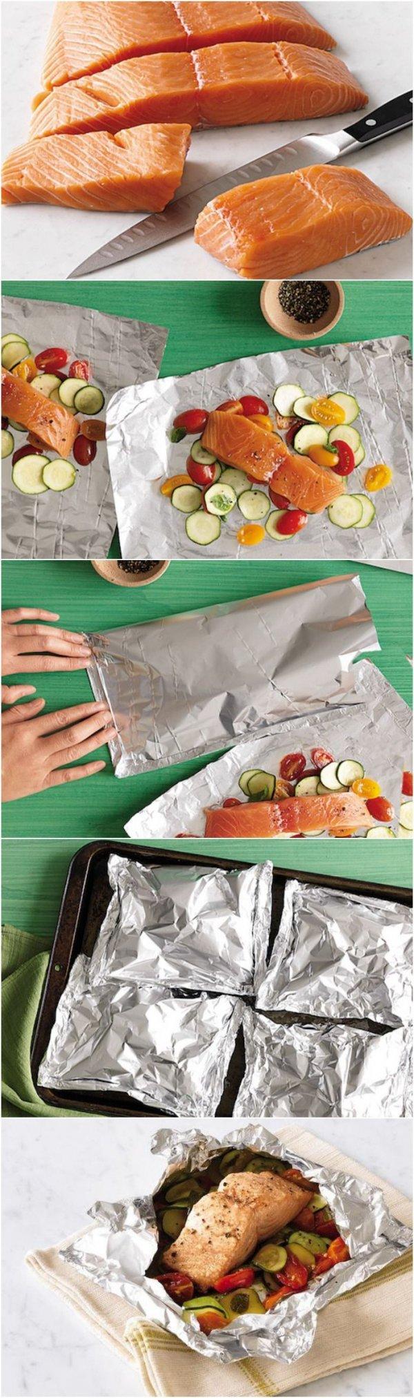 Foil Salmon